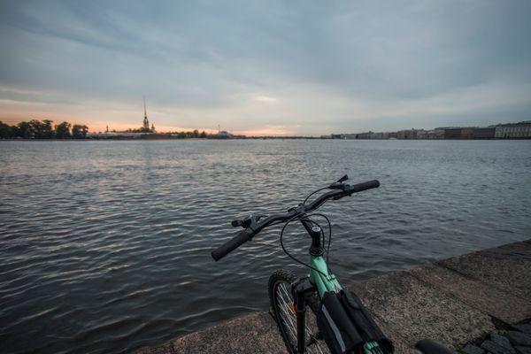Петербург на велосипеде